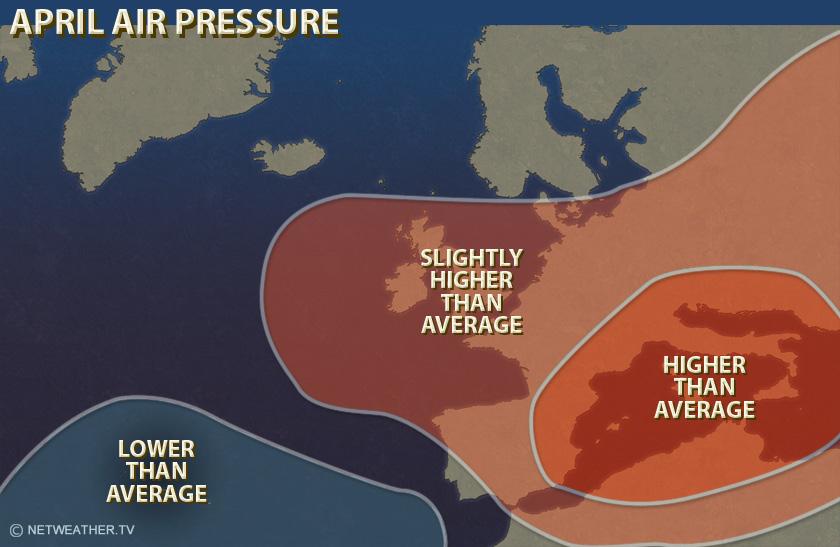 April Air Pressure