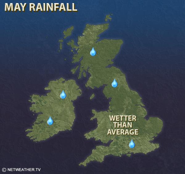 May Rainfall