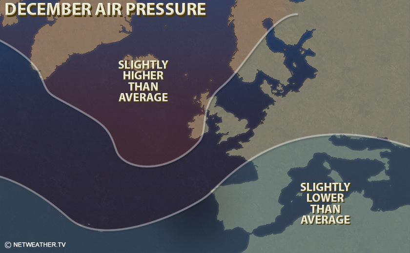 December Air Pressure