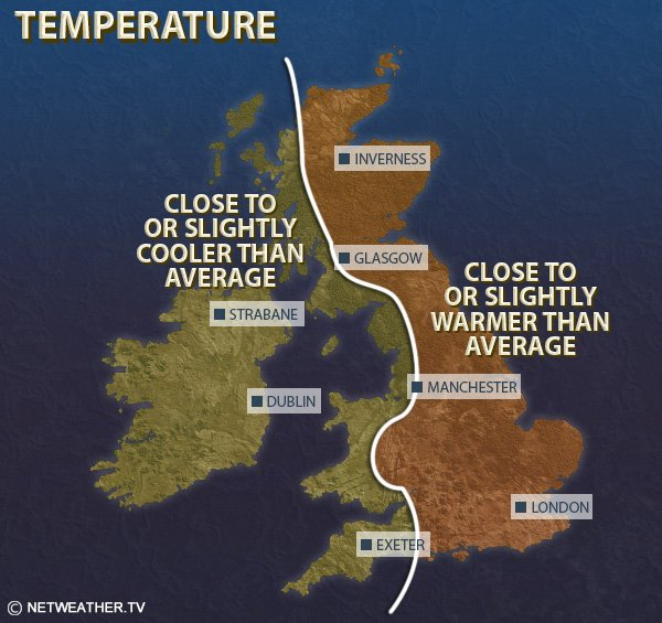 Monthly Weather Forecast - Netweather tv