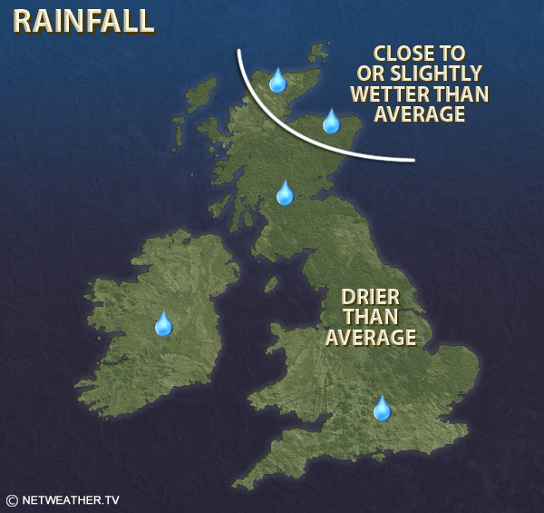 Monthly weather forecast