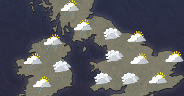 5 day UK weather forecast