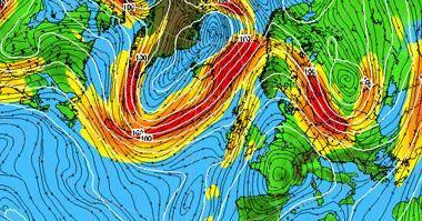 Jet Stream forecast