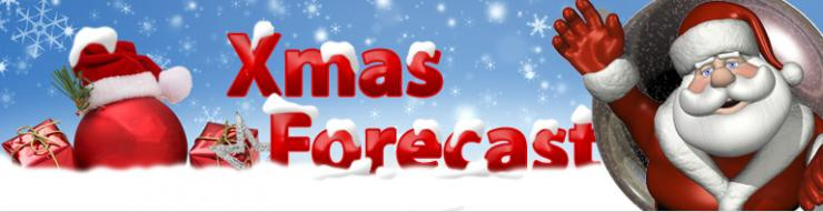 Christmas weather forecast