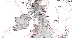 Snow risk maps