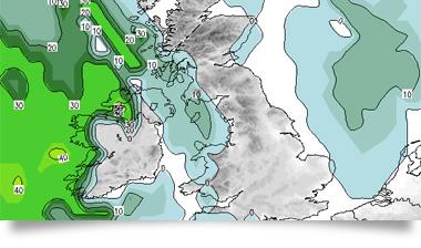 Storm risk maps