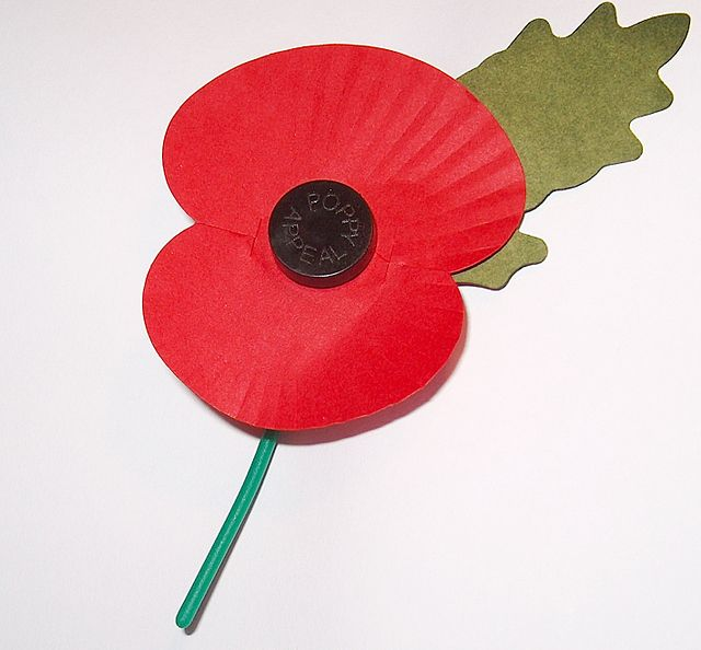 Armistice Day Turning Wet & Windy From The West