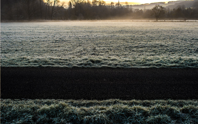 Cold & Dry, With Hard Frosts Until The New Year