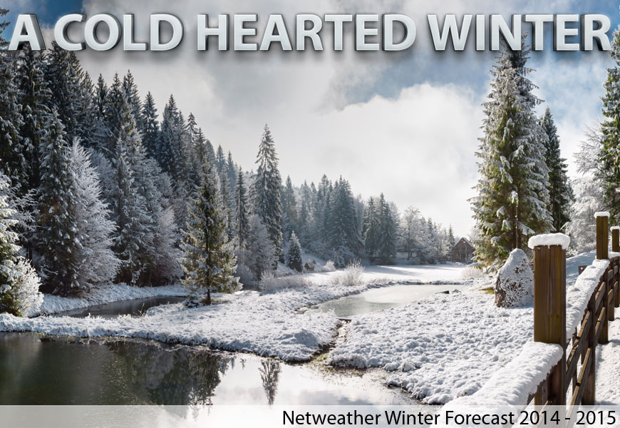 Winter Forecast Issued: 'A Cold Hearted Winter'