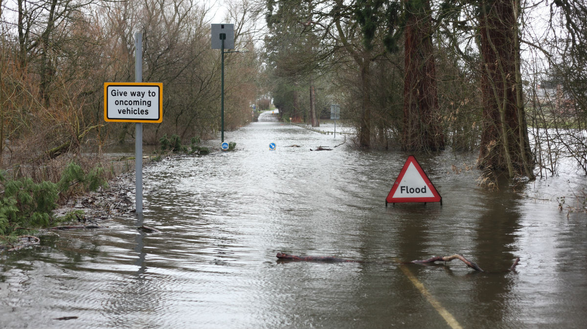 Record Rainfall From Storm Desmond - The Cause And Consequence