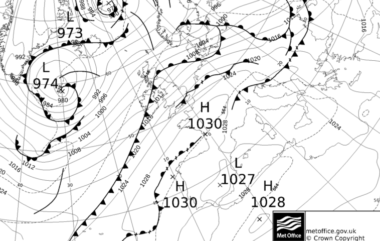 Frontal system Tuesday