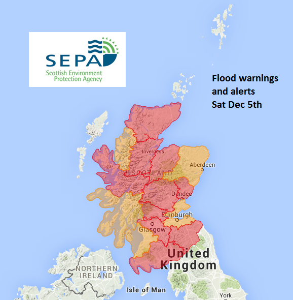 severe flood warnings are issued when there is a danger to life and significant disruption to the community is likely