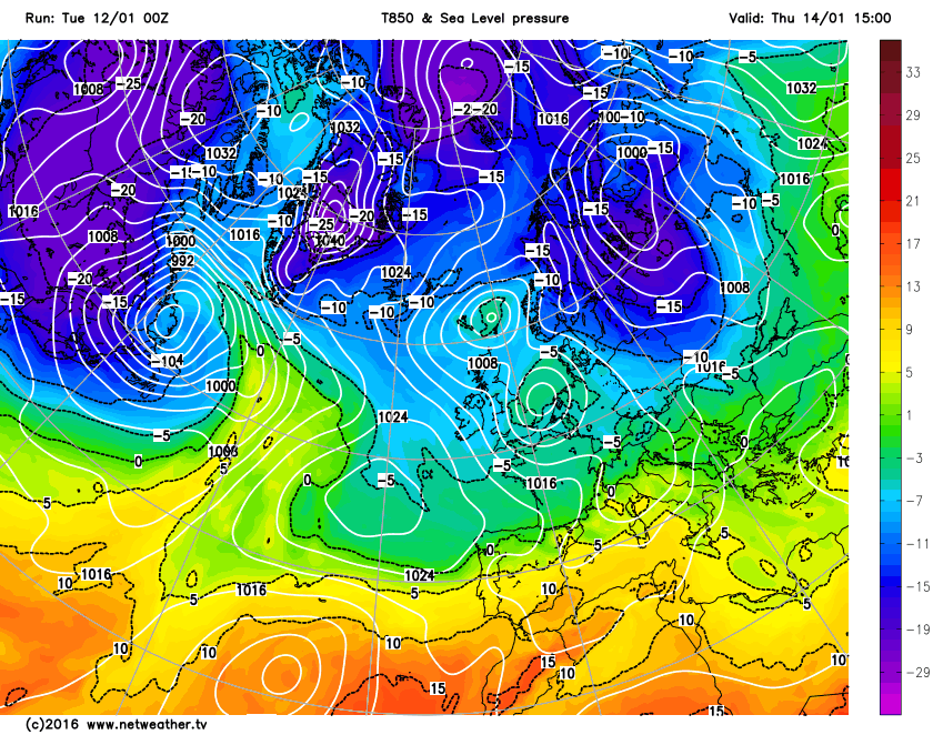 More polar air later in the week