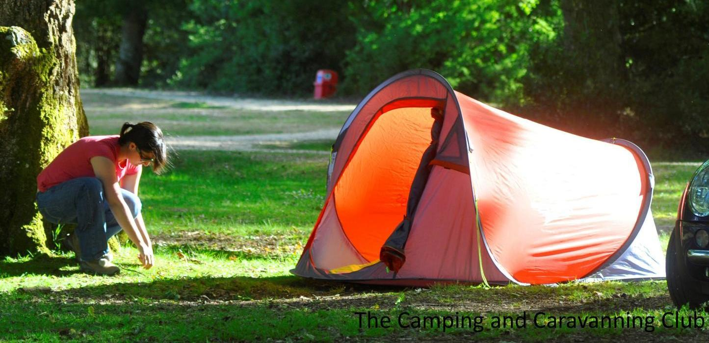 Camping weather forecast UK