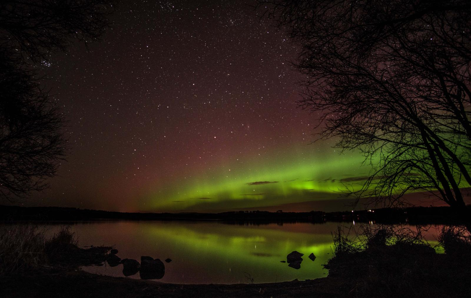 Northern Lights could be visible over MI tonight