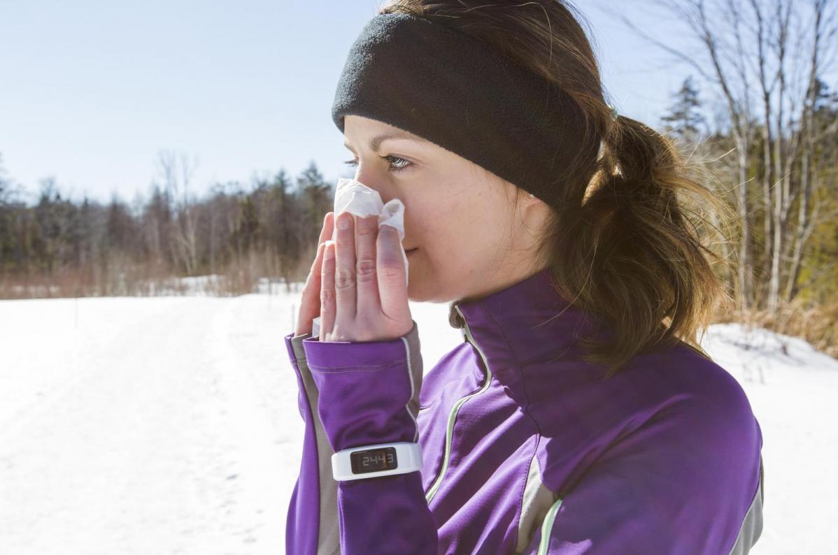 New year Colds and Flu. January chill and staying on track in cold winter weather