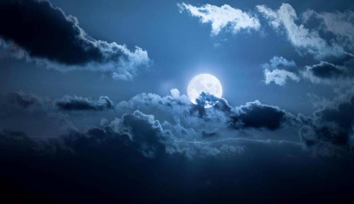 Harvest moon on Friday 13th/Sat 14th, will the UK weather allow clear skies ?