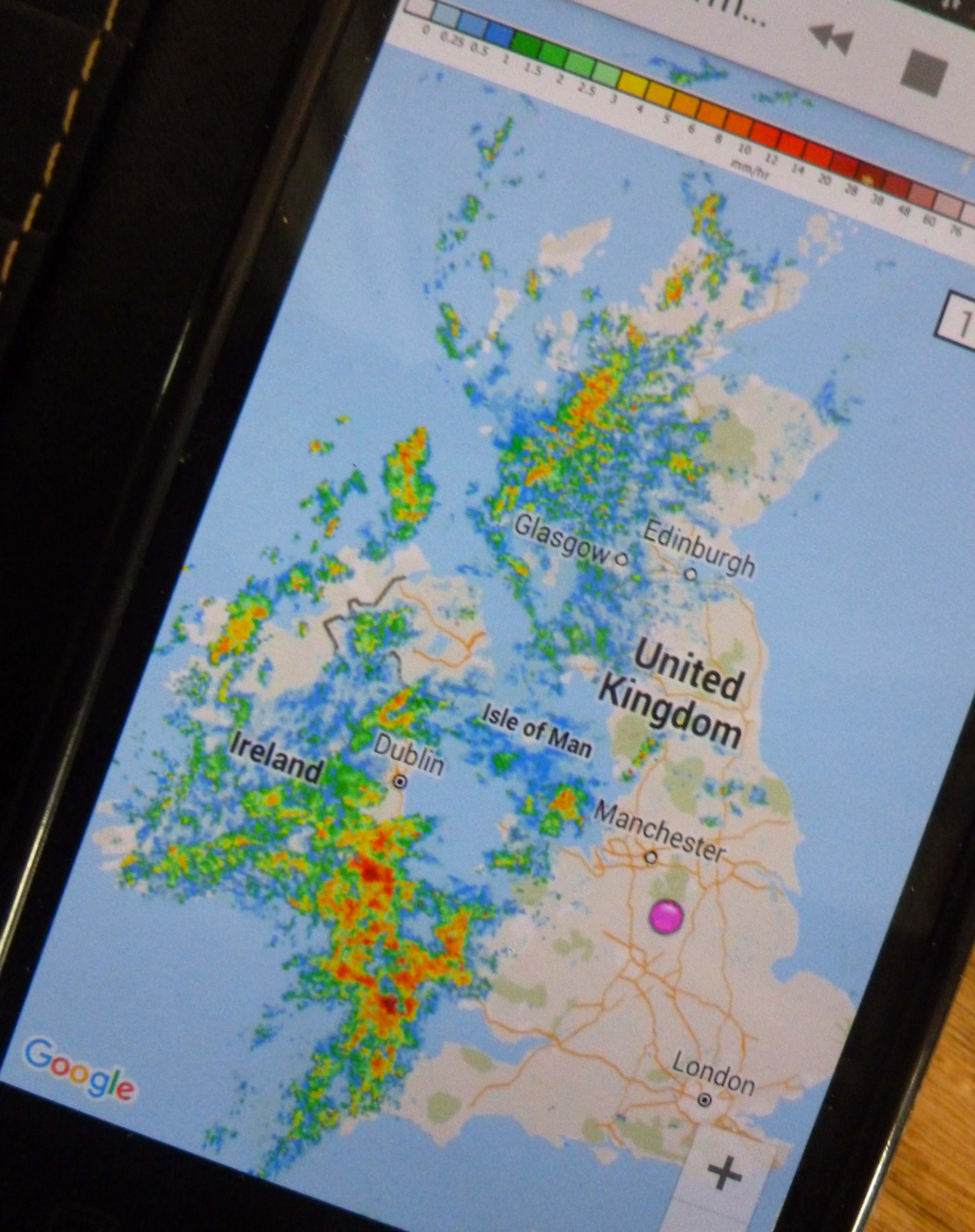 Netweather Radar app