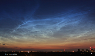 What are Noctilucent clouds? Also known as NLCs or Polar Mesospheric Clouds PMCs