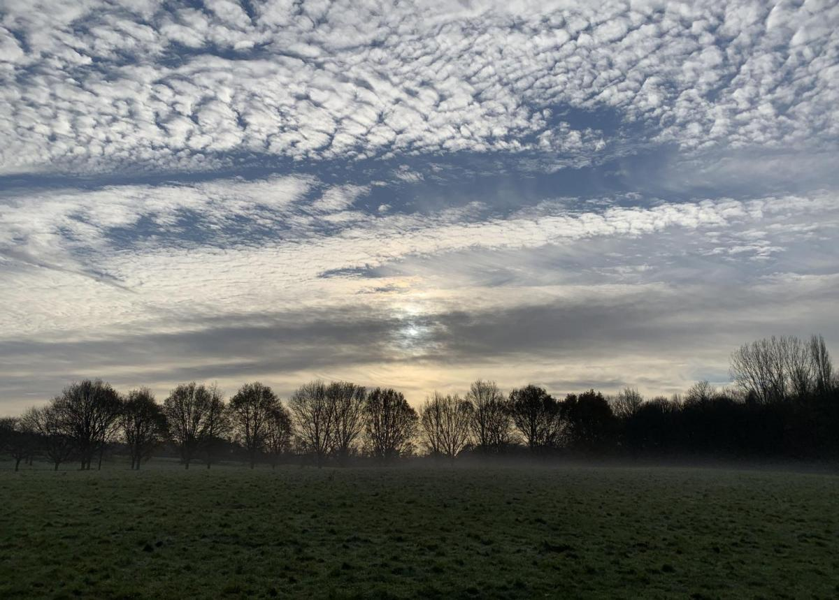Mild air fades as a frosty chill takes hold with fog later this week