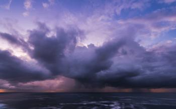 A humid start to the week, with the threat of heavy rain and thunderstorms