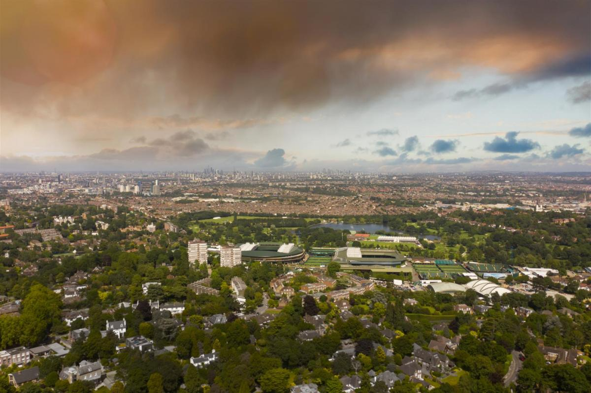 Rain threatens the start of Wimbledon next week - Head north for sunshine and warmth