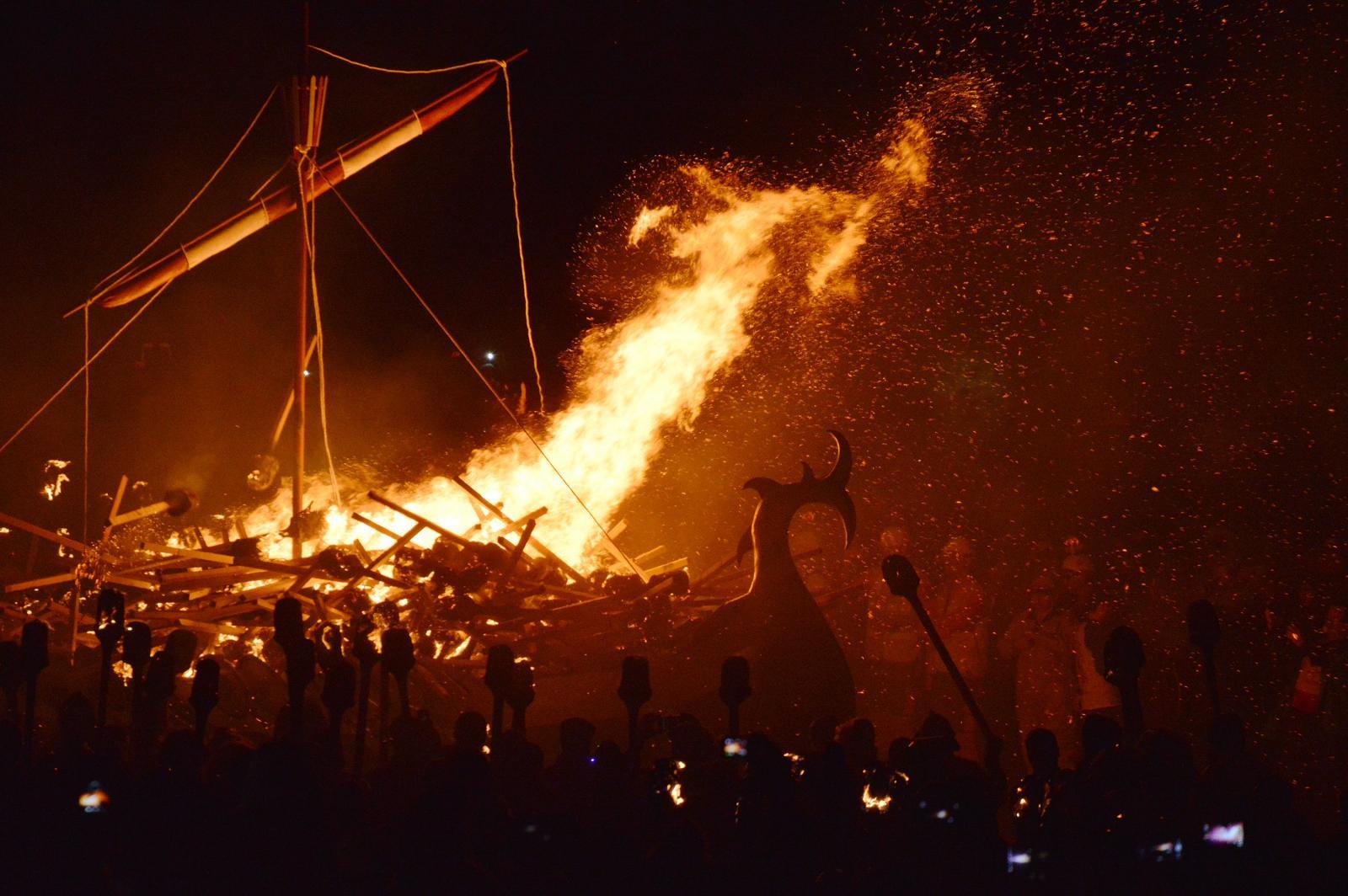 Shetland - Up Helly Aa the Viking celebration, Weather Radar and Jimmy Perez