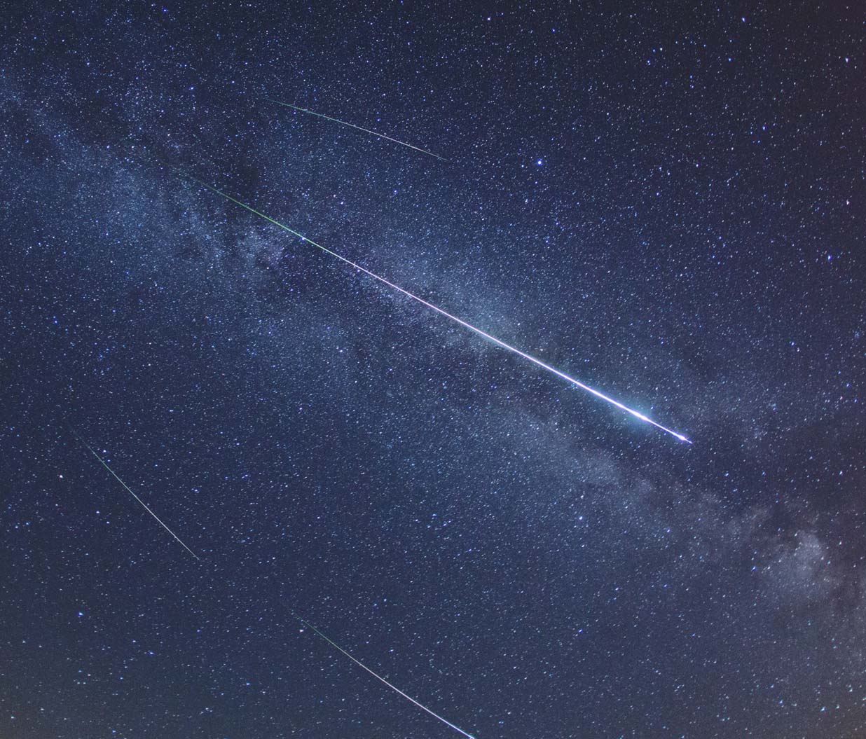 Annual Perseid meteor shower peaks this weekend