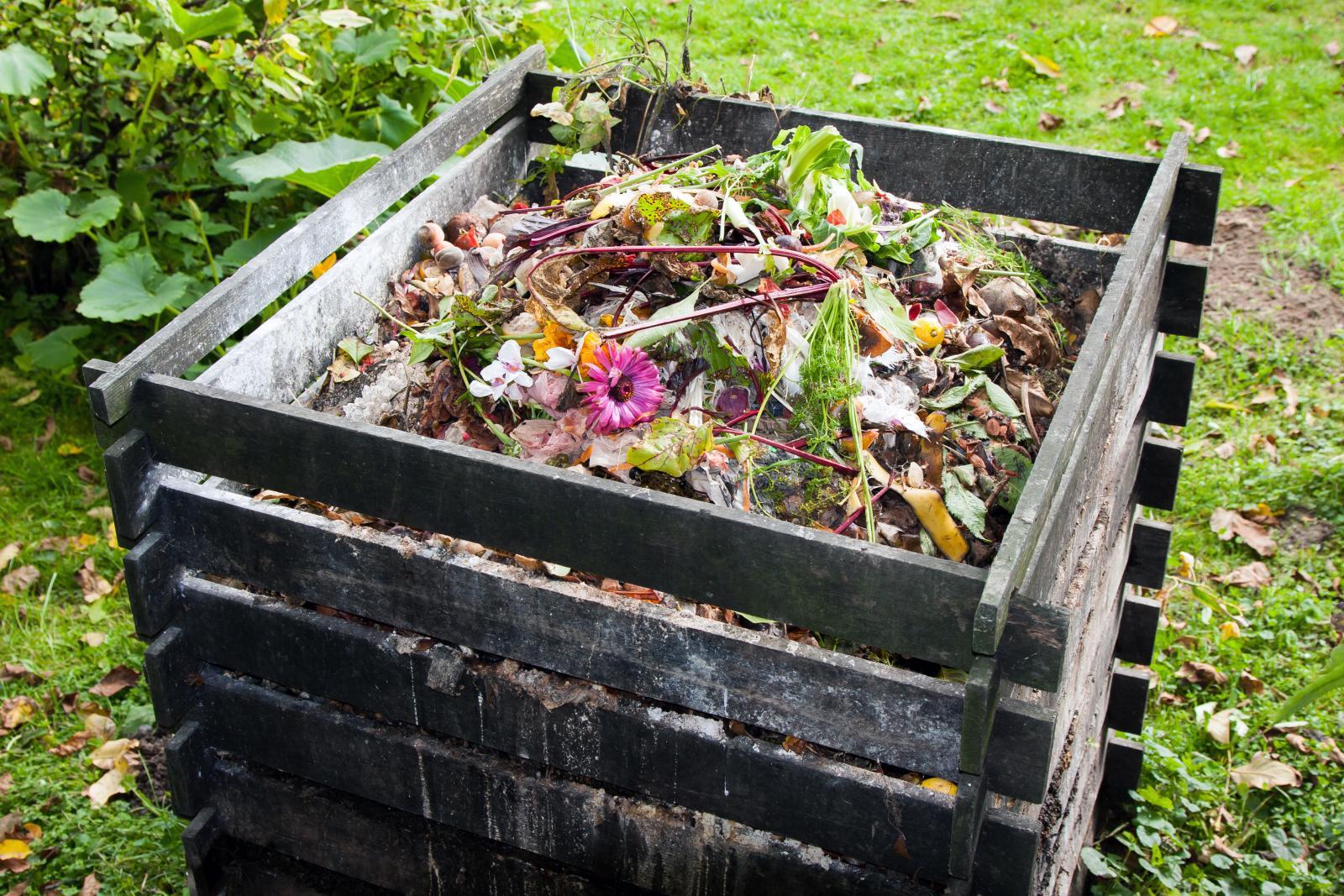 Get composting - a compost bin