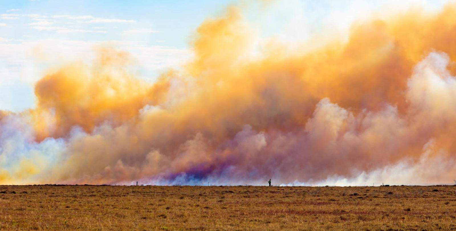 Malibu fires, California smoke and the warm, dry Santa Ana winds