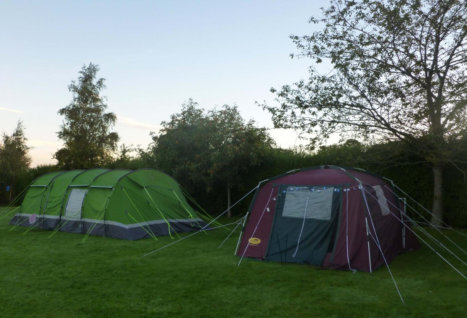 Camping this weekend, cooler with showers