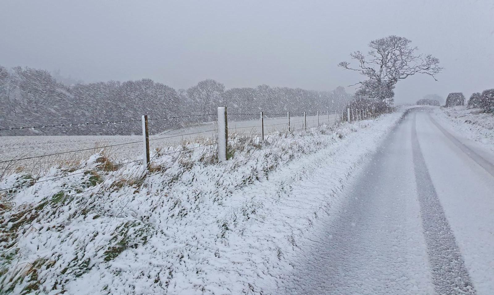 Wintry end to the week for the UK, with snow in places, particularly in the north