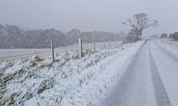 Cold weekend with risk of snow in places & hard frosts