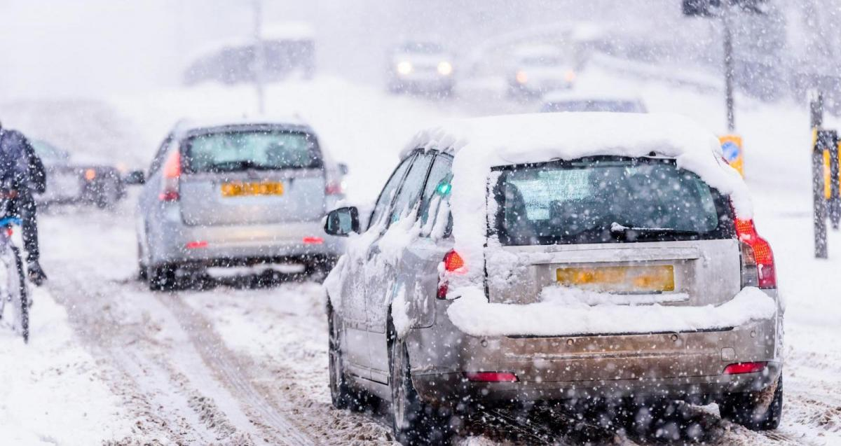 Snow risk over the next few days over northern and eastern areas