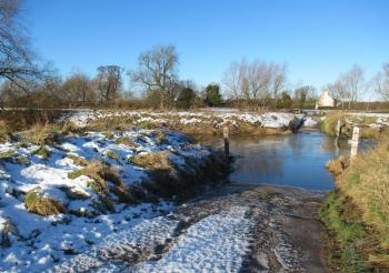 Cold, sunny start but milder air, snowmelt and more rain ups the flood risk