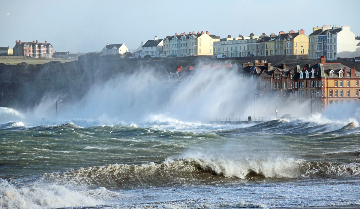 Storm Caroline hits, severe gales in far north then much colder with snow