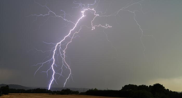 Thundery downpours today before turning much colder for all on Thursday
