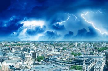 More heavy, thundery rain for England
