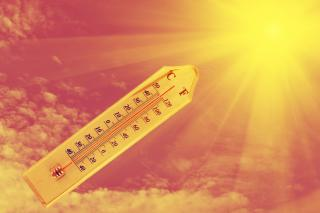 Temperatures into heatwave territory and no rain