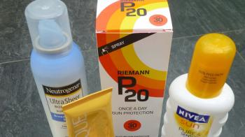 Sunscreen, slap it on! It is warming up, just be sun smart