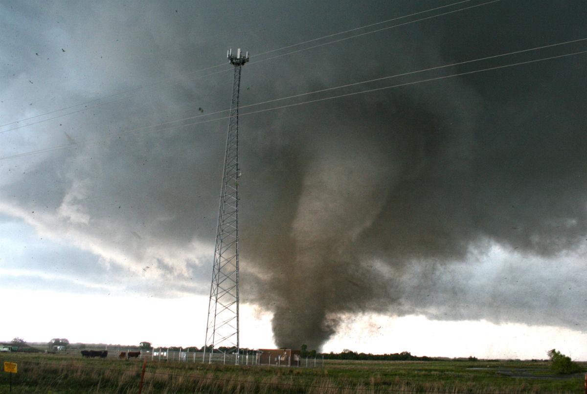 Tornado in Oklahoma on day 3