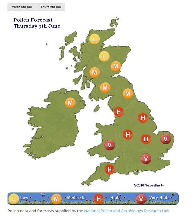 Atishoo! Grass Pollen season is here - Blog by Jo Farrow