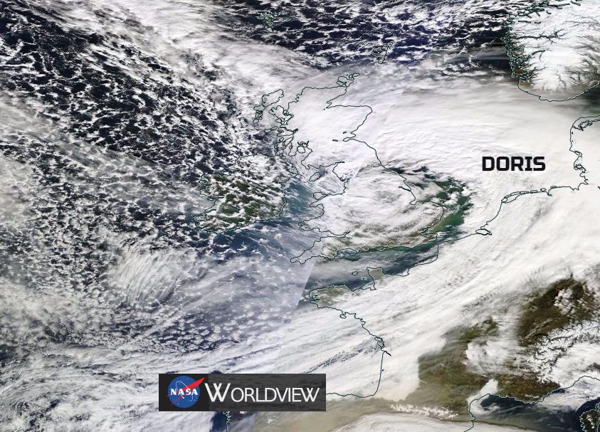 #StormDoris - Damage and Disruption