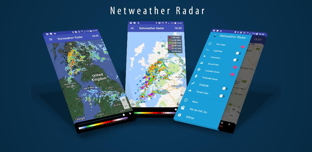New Netweather Radar Apps