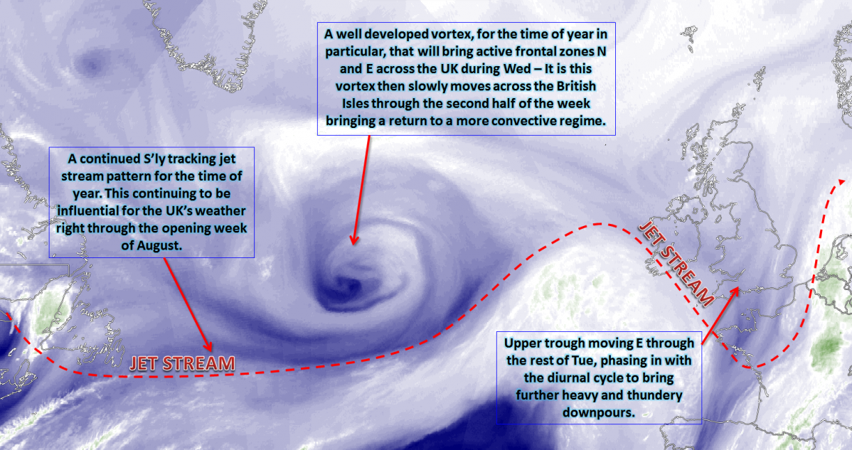 Synoptic Guidance - Cool and Cyclonic Conditions Continue