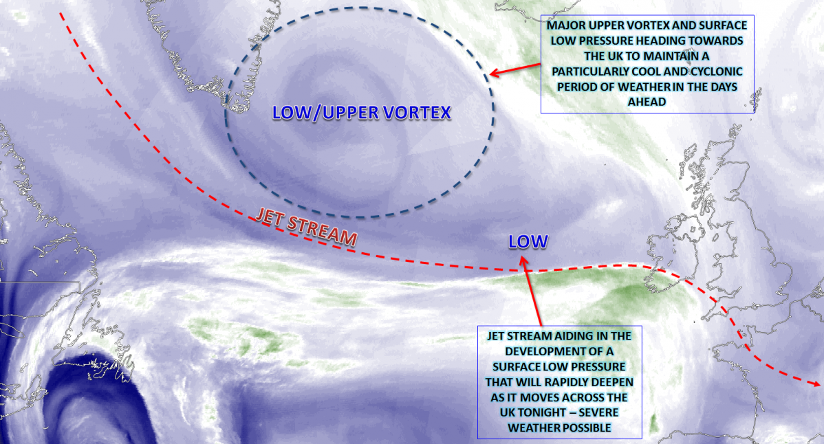 Synoptic Guidance - A Cyclonic Regime Continues