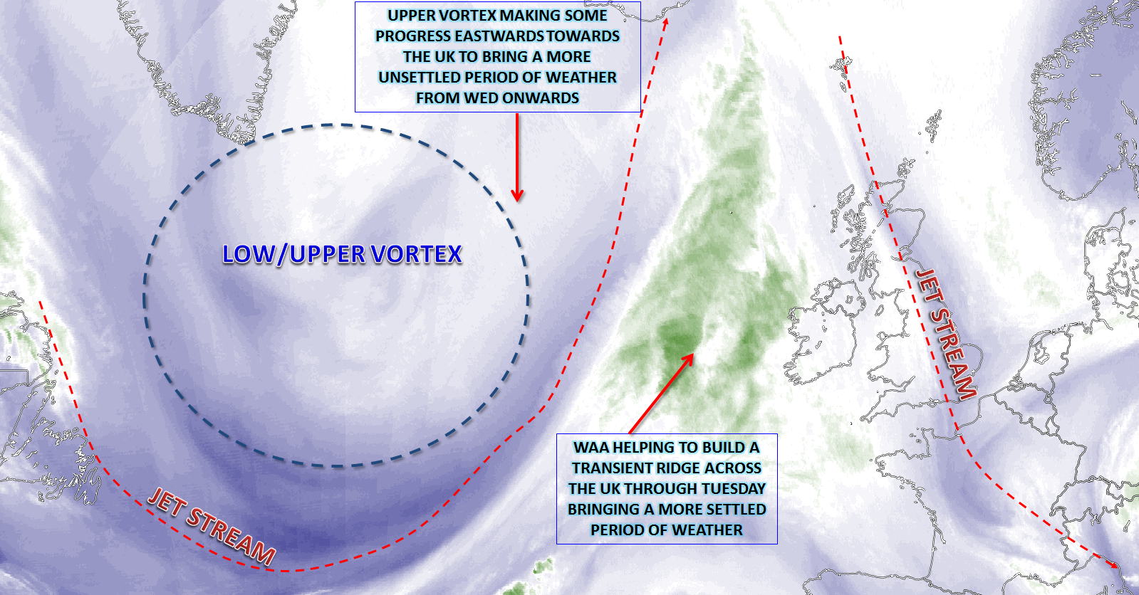 Synoptic Guidance - Blocking Patterns and An Uncertain Outlook