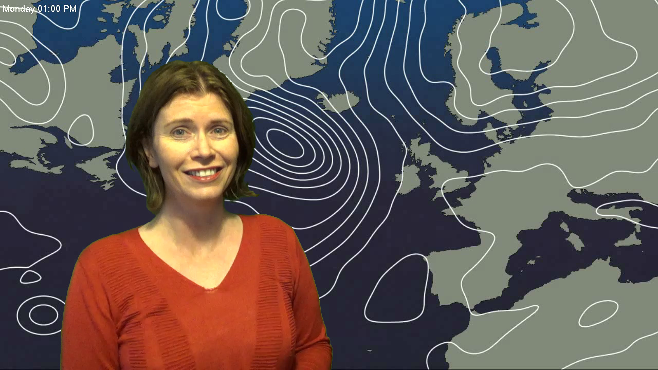 Jo Farrow: Monday rain fading, turning blustery and eventually cooler later this week