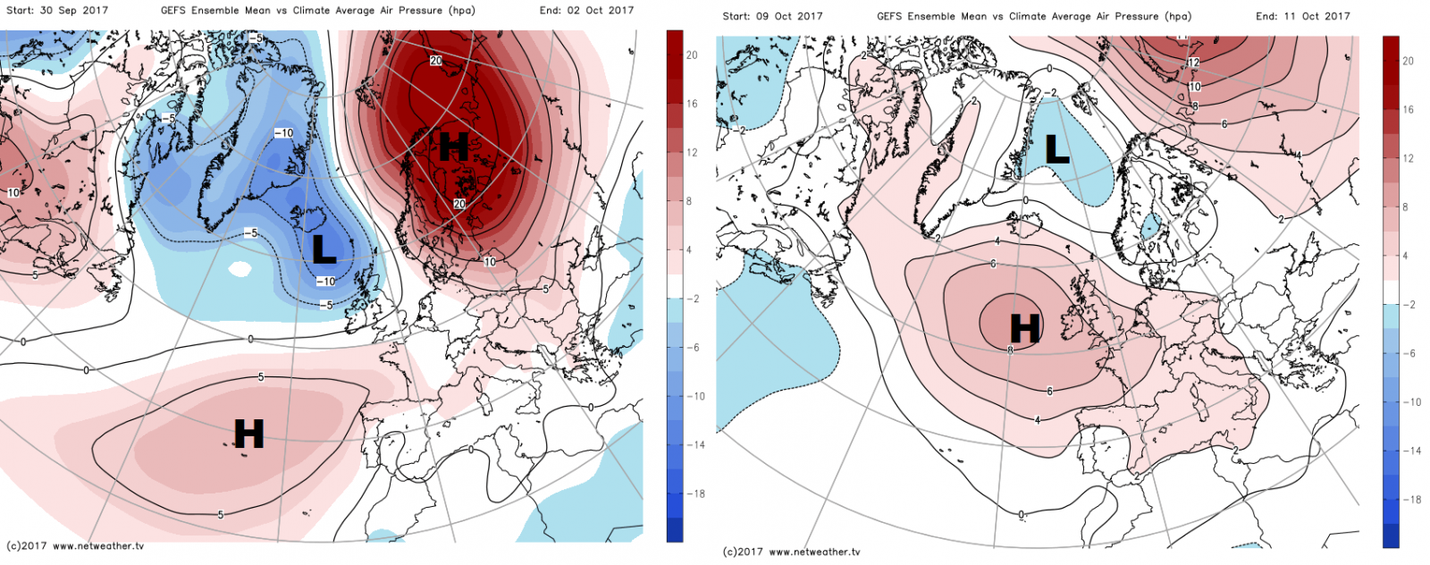 synoptic guidance - a cyclonic outlook into october