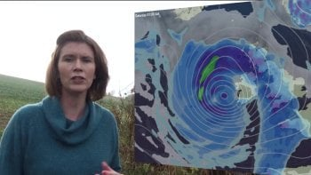 Jo Farrow: Wet Thursday, Then A Stormy Start To The Weekend